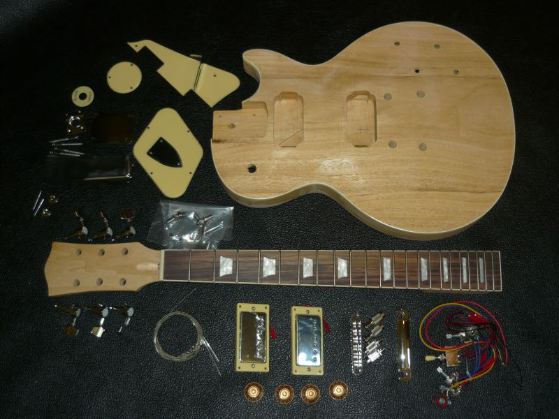 Electric guitar kit lp style diy do it yourself lp style electric guitar kit lp style solutioingenieria Gallery