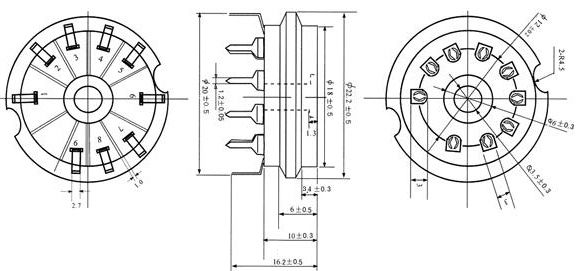 Billedresultat for 9-Pin noval print