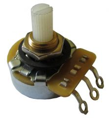 CTS 250k Ohm log pot, 24 mm / 6,3 mm nylon shaft