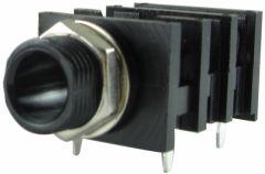 Fender® Input Jack mono, 4 pin, pc mount