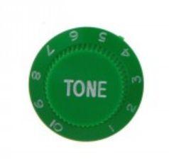 Strat tone knob, green