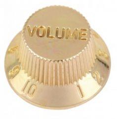 Strat volume knob, gold