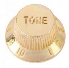 Strat tone knob, gold