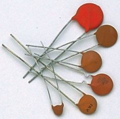 ceramic disc capacitor 0,1 µF