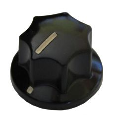 Eagle pointer knob, small, fluted, 19mm