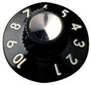 Fender blackface skirted knob (1-10)