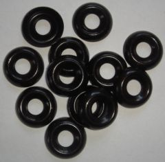 Finish washer, black, 12 pcs. / package
