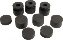 Dunlop Wah grommets, offset, 3 large, 3 small